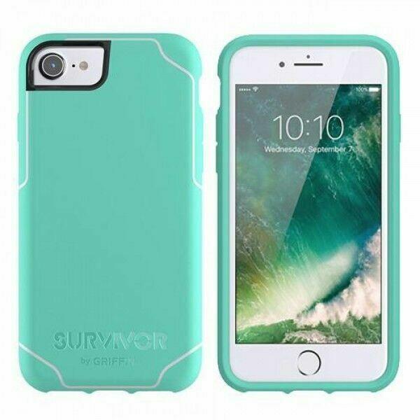 Griffin Survivor Journey Coque pour iPhone 6/6s/7 - Vert/blanc