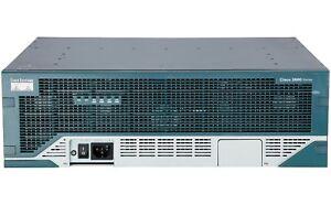 Used-Cisco-C3845-VSEC-K9-Integrated-Services-Router-VSEC-Bundle-w-PVDM2-64