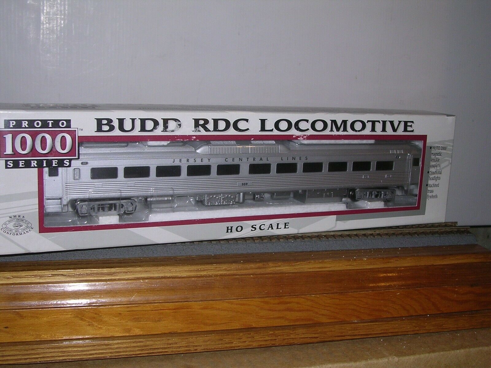 L.L. P1K Jersey Central Lines Budd RDC-1 Diesel Railrauto H.O. 1 87