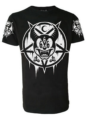 MICKEY 666 T-Shirt Darkside Occult Collection sizes S Wiccan Rock 2XL //Goth