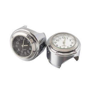 7-8-034-1-034-Universal-Motorcycle-Dial-Handlebar-Mount-Watch-Clock-For-Suzuki-New