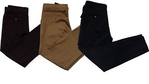 New-Mens-Black-Designer-Trousers-Chinos-Stretch-Skinny-Slim-Fit-Jeans-Sizes-UK