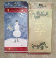 Pack Of 6 Dayspring Christmas Money Holder Gift Cards - 2 Styles - Your Choice