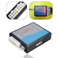 Desktop PC Computer LED 20/24 Pin 4 ATX BTX ITX SATA HD HDD Power Supply Tester