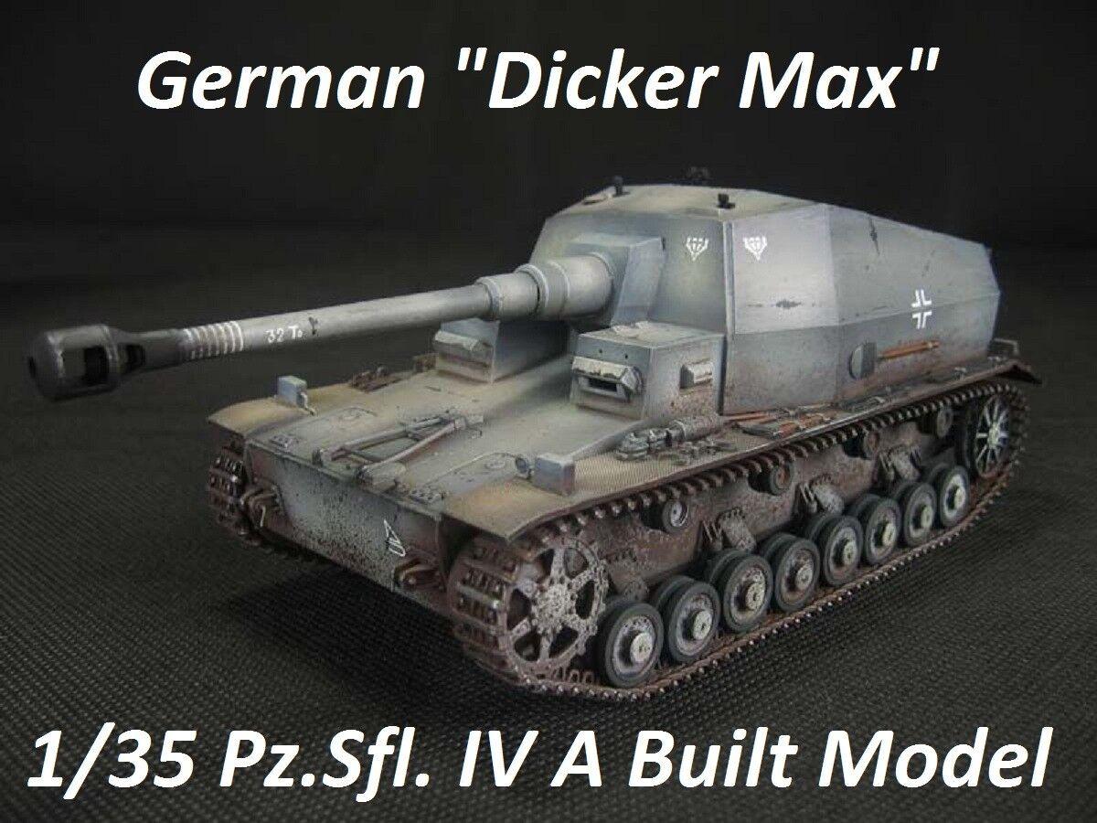 10.5cm K. Pz. SFL. IVA Dicker Max - construido 1/35