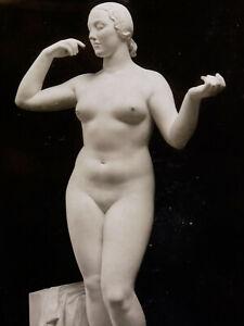 Léon Ernest Drivier (1878-1951) Photographie Femme Nue Periode Art Deco
