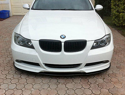 CLEARANCE STOCK PRIMED 05-08 BMW 3-SERIES E90 M-TECH FRONT SPLITTER