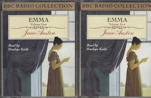 Jane-Austen-Emma-4-Cassette-Audio-Book-Abridged-BBC-Radio-Penelope-Keith
