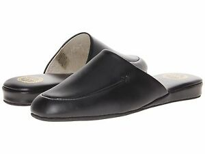 fa82fe20a Men's L.B. Evans Duke Scuff 2761 Black Leather Slipper*Runs Small ...
