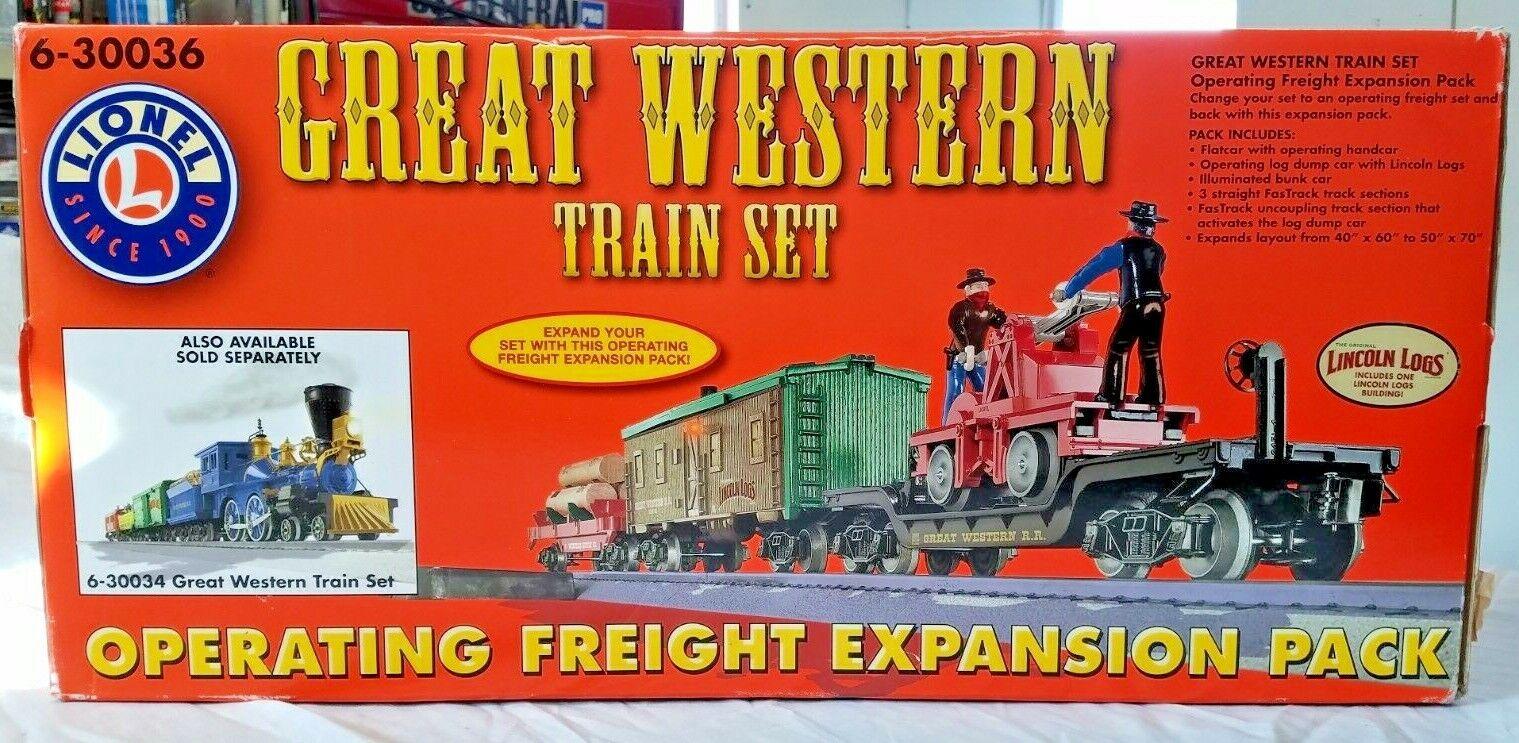 Lionel Great Western Train Set  630036