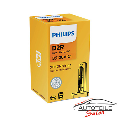 Philips D2R Vision Xenon Autolampe OE Qualität 85126VIC1 Original Brenner