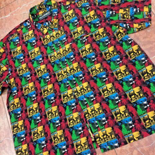 para Rhythm manga multicolor hombre abotonada Pelle corta de de Camisa n84Zaxq