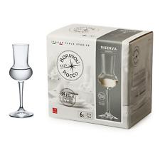 4cl Glas 6 St Bormioli Rocco 166181 Riserva Grappakelch 80ml Füllstrich 2cl