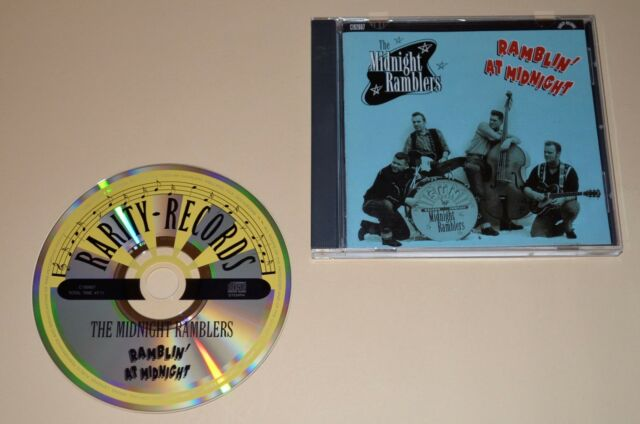 The Midnight Ramblers - Ramblin` At Midnight / Rarity-Records 2000 / Rockabilly