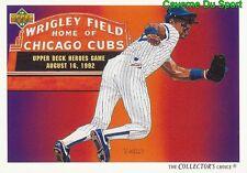 035 SHAWON DUNSTON TC, CL CHICAGO CUBS  BASEBALL CARD UPPER DECK 1992