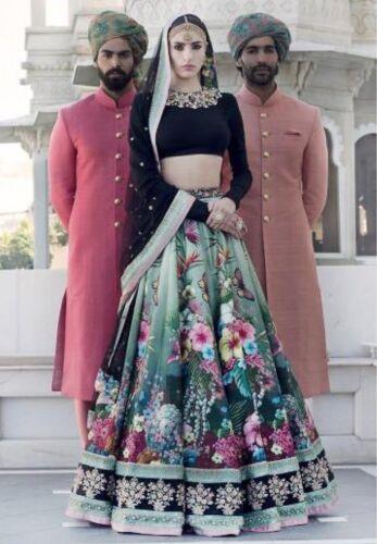 Lehenga Choli Traditional Wedding Designer Indian Latest Bollywood Bridal Lengha