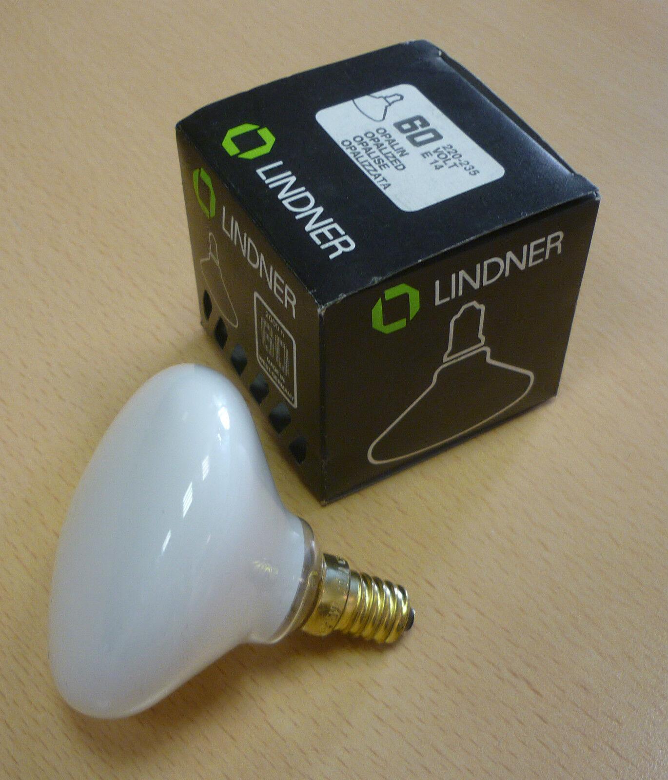 Original GENERAL ELECTRIC ELDEA FORM Glühlampe E14 25W opal weiß Spiegellampe