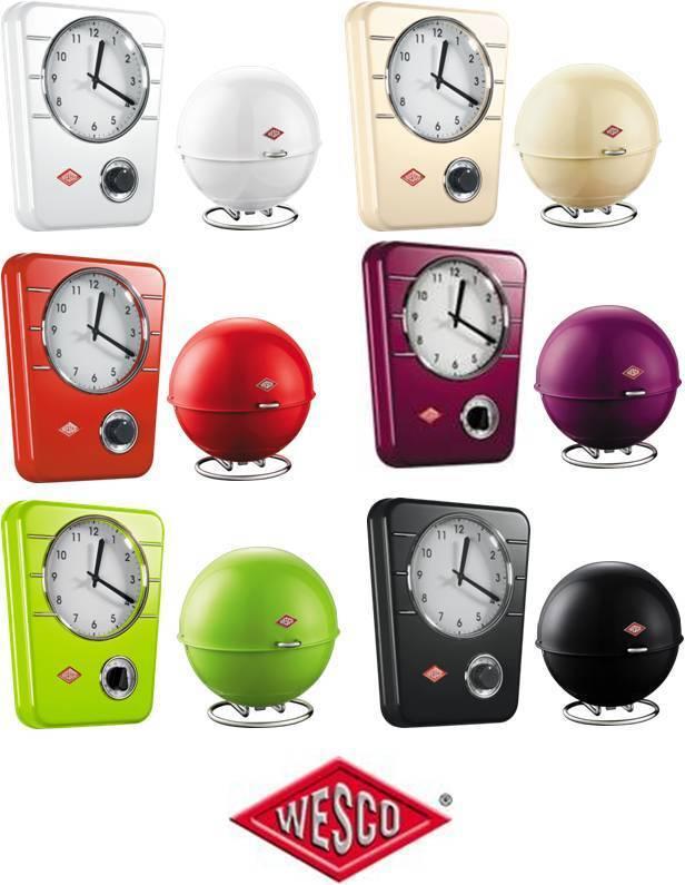 Wesco Super Ball & Horloge de Cuisine pour à Grandy Coffret Rangement à Bijoux