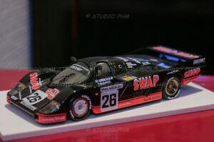 Porsche 956 N ° 26 P.henn T.bird / échange Boutique 2 ° 24h Du Mans 84 1:43 No Spark