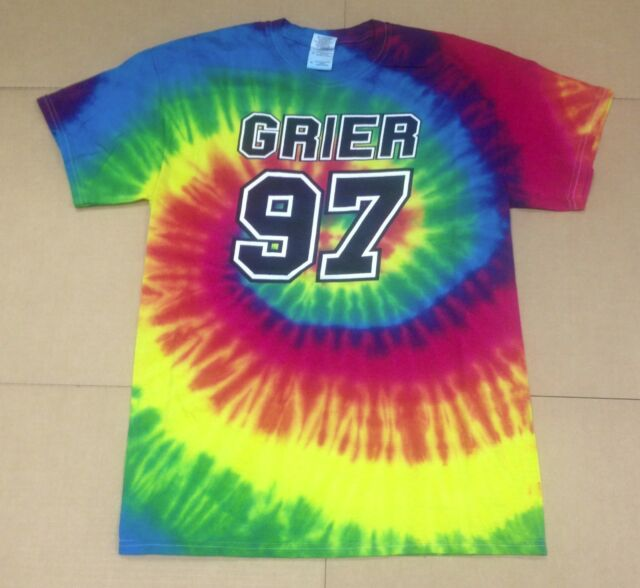 OFFICIALLY LICENSED NASH GRIER TIE DYE 97 T-SHIRT SIZE SMALL