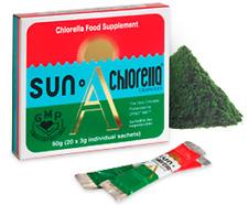 Sun Chlorella Sun Chlorella A20 Granules (3g) 20 Satchets (Pack of 6)