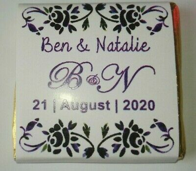Wrapped or Unwrapped Personalised Wedding // Anniversary // Birthday WD8