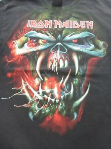 VTG Iron Maiden Final Frontier World Tour T Shirt 2010 Hanes ... b5f21771e