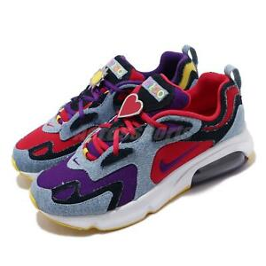 Details about Nike Air Max 200 SP Lightwash Denim Red Purple Mens Running Shoes CK5668 600