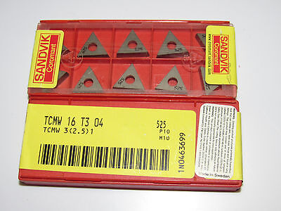 10 new VALENITE SPMW 432 VP1130 Carbide Turning Inserts SPMW120408