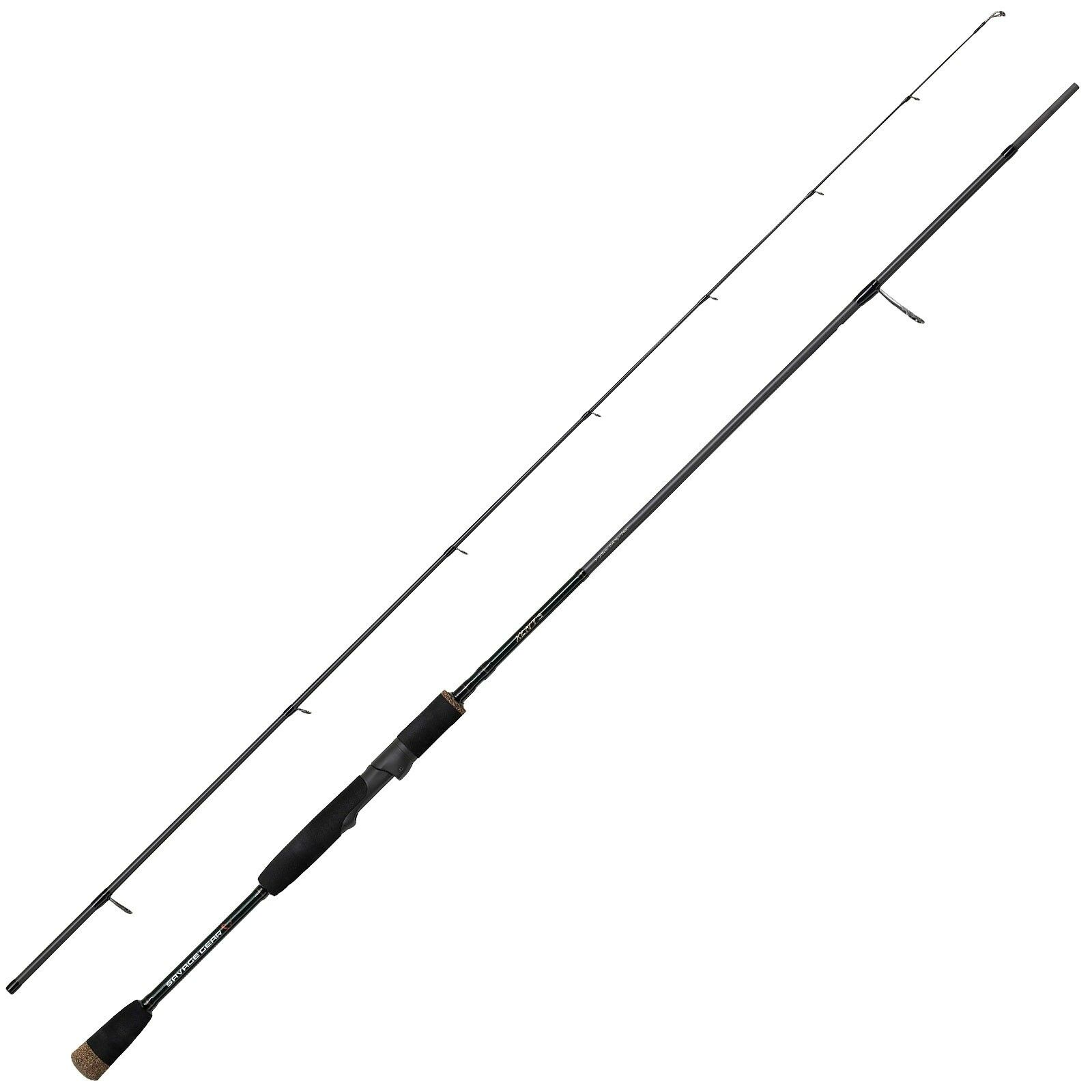 Savage gear caña pesca Cañas Spinning Rod - XLNT3 7 ft 2-parte 2, 13 m 2-10g