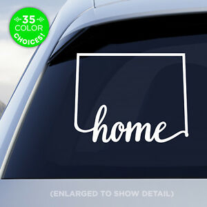 Colorado-State-034-Home-034-Decal-CO-Vinyl-Sticker-Add-a-heart-over-your-fav-city