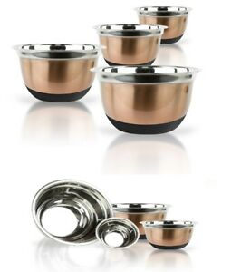 Copper-Stainless-Steel-Mixing-Bowl-Set-W-Silicone-Bottoms-4-Piece-Nested-Bowls
