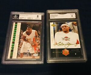 LEBRON JAMES ROOKIE Upper Deck 2003 BGS 03-04 RC Lakers LOT 2004 GOLD 2nd Year 1