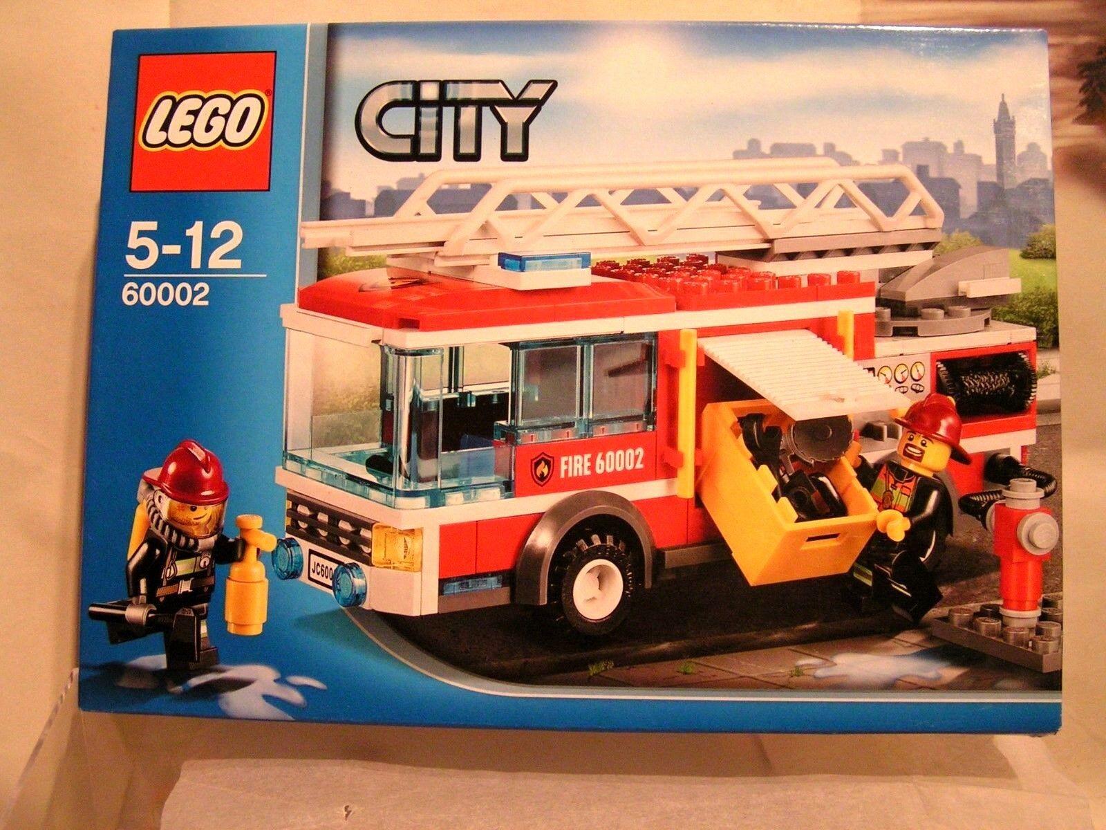 LEGO CITY  -   LE CAMION DE POMPIERS ECHELLE DOUBLE ref.60002 (EN BOÎTE SCELLEE)