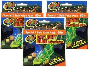 3-Pack-Zoo-Med-Daylight-Blue-Reptile-Bulbs-60-Watt-2-Bulbs-Per-Pack