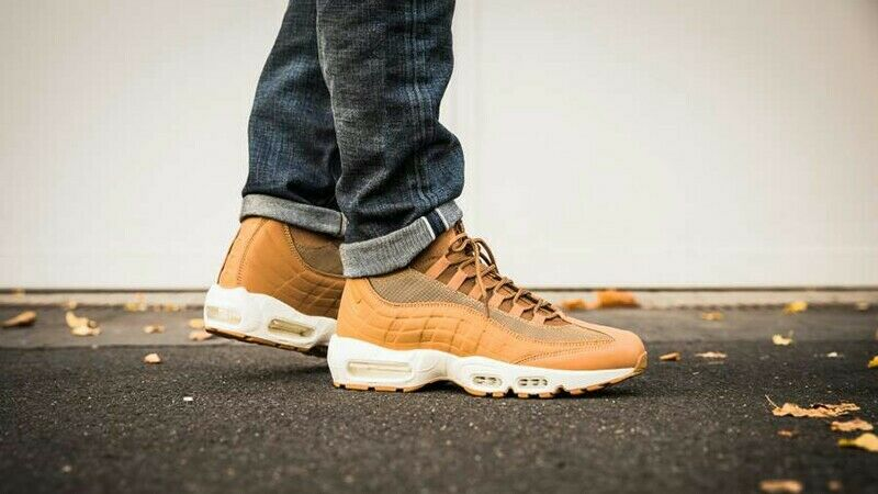 Nike Air Max 95 Sneakerboot Wheat Tan UK Size 7 806809 201