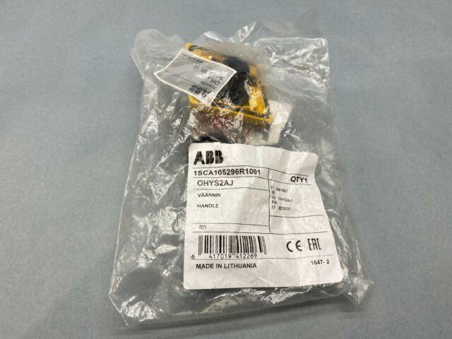 New ABB OHYS2AJ selector handle