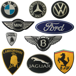 Das Bild Wird Geladen Super Rennwagen Marken Bestickt Eisen Patch Abzeichen Zum