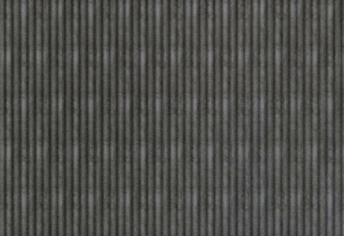 "BACKSPLASH DECORATIVE PANELS  18/"" X 24/""  RIB CROSSHATCH SILVER"