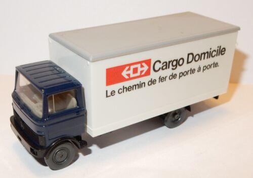 WIKING HO 1//87 CAMION MERCEDES CARGO DOMICILE LE CHEMIN DE FER DE PORTE A PORTE