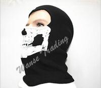 Ski Snowboard Motorcycle Balaclava Ghost Skull Mask Full Face Neck Head Hood Cap
