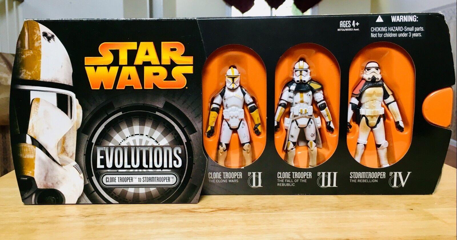 Star - wars - entwicklungen klon soldat zu stormtrooper  phase 1phase 2sandtrooper