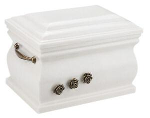 Funeral Urn Memorial Urne La Crémation Urne pour adultes Metal Urne Pour Cendres Rose