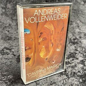 Andreas Vollenweider Caverna Magica Cassette Tape CBS 1983 FMT 37827