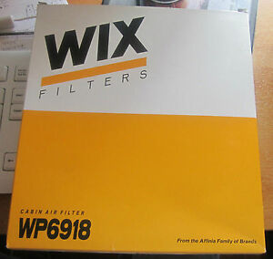 WIX-CABIN-AIR-FILTER-WP6918-VAUXHALL-OPEL-BRAND-NEW-amp-BOXED