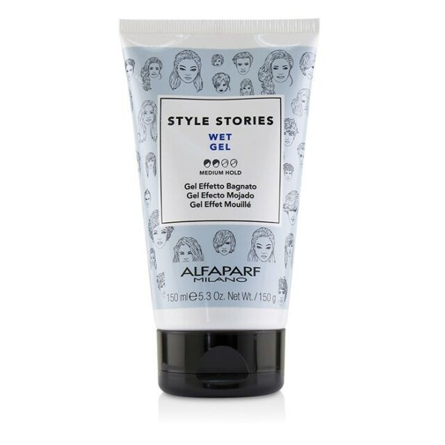 AlfaParf Style Stories Wet Gel (Medium Hold) 150ml Styling Cream / Gel