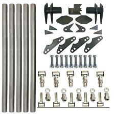 Parallel 4 Link Kit Universal Weld On Application 125 X 20 Bars Lh Amp Rh Ends