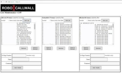 Blocks robo calls automatically landline RoboCallWall Wifi Phone Call Blocker