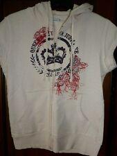 Ben Sherman pink short-sleeved cardigan sweater. Size M, medium