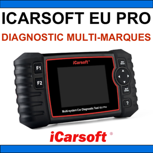 Suitcase Interface Icarsoft Uk Pro Car Scanner Obd2 Diagnosis Multi Brand Ebay